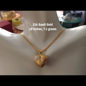 PRE ORDER- 21k Real Gold Necklace